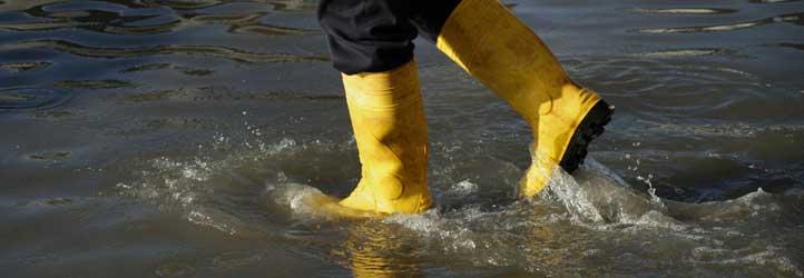 Jahrhundertflut Hochwasser Ueberschwemmung Versicherung Mittelstand Steuern