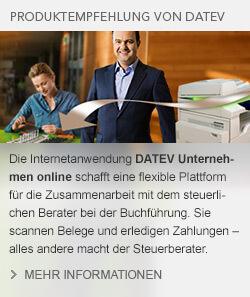 DATEV Unternehmen online Digitaler Belegaustausch