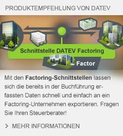 DATEV Factoring Schnittstellen
