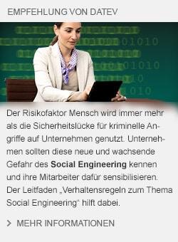 DATEV Produktbox Social Engineering