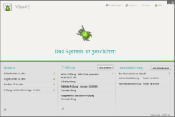 Screenshot von DATEV VIWAS