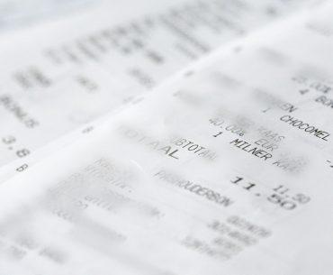 Rechnung, Beleg, Steuererklärung, Thermobeleg, Betriebsprüfung