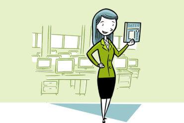 Eine Expertin berichtet über die Datenübermittlung an Statitische Ämter