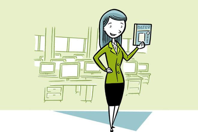 Eine Expertin erklärt, welche Veranstaltungen DATEV für Unternehmer bietet