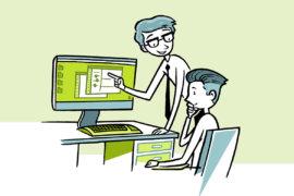 """Ein Experte erklärt, wann die neuen Versionen der DATEV-Programme zur Verfügung stehenZwei Unternehmer erklären, was das Label """"Digitale DATEV-Kanzlei"""" für sie bedeutet"""