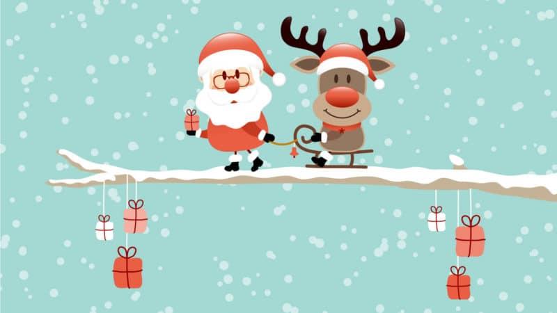 Geschäftliche Weihnachtswünsche sind ideal zur Kundenbindung