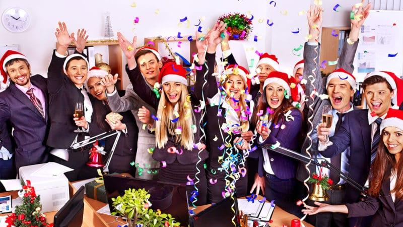 Weihnachtsfeier unter Schutz der Unfallversicherung