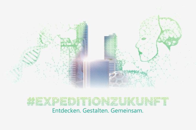 Titelbild der Konzeptstudie Expedition Zukunft von DATEV, in der es um Strategieplanung geht