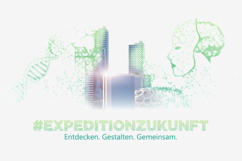 Titelbild der Konzeptstudie Expedition Zukunft von DATEV