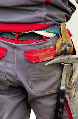 Eine Waffenverbotszone wird für Handwerker schnell zum Problem