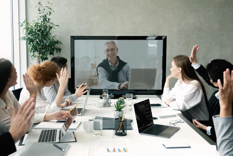Telko einrichten, Telefonanlage, Telefonkonferenz, Videokonferenz, Projektmanagement, Effizienz
