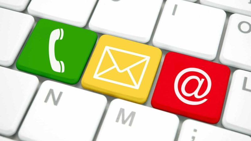 Onlineshop: Kontakt muss einfach möglich sein