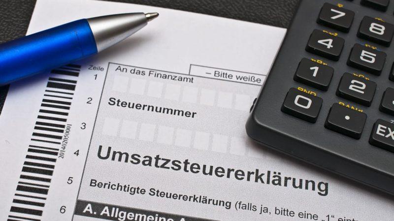 Kleinunternehmer profitieren von Umsatzsteuererklärung