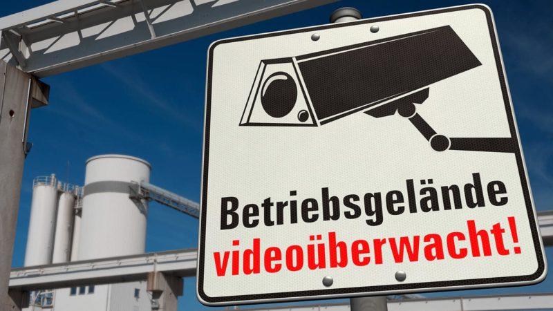 Videoüberwachung auf Firmengelände muss professionell gemacht sein