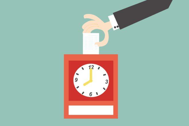 Software hilft bei der Zeiterfassung und löst die Stechuhr ab.