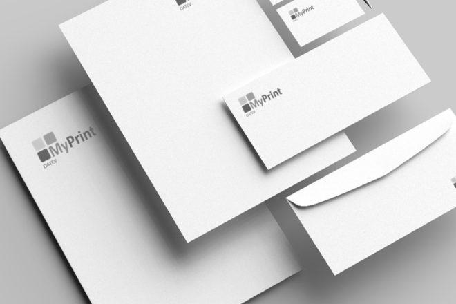 Komplette Geschäftsausstattung online gestalten mit DATEV MyPrint