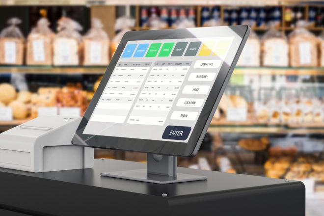 Das Foto zeigt eine elektronische Registrierkasse. Eine ordnungsgemäße Kassenführung ist Pflicht für jeden - auch Kleinunternehmer. Bei einer Kassennachschau vom Finanzamt werden Fehler sonst teuer.