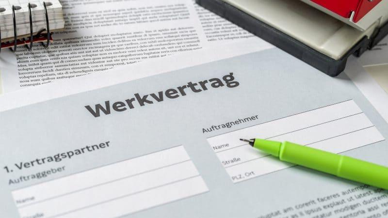Die Vorteile vom Werkvertrag gegenüber dem Dienstvertrag