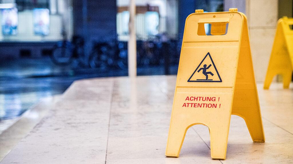 Unternehmen sollten ihre Verkehrssicherungspflicht ernst nehmen
