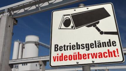 Videoüberwachung auf Firmengelände muss professionell sein